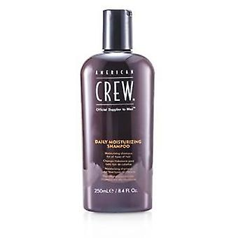 American Crew Men Daily Moisturizing Shampoo (For All Types of Hair) - 250ml/8.4oz