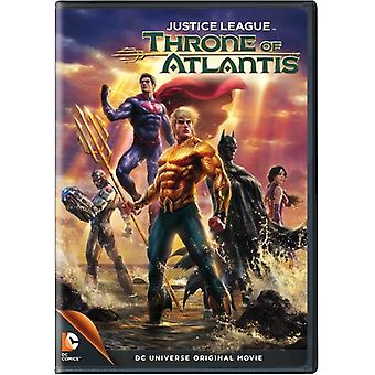Justice League: Throne of Atlantis [DVD] USA import