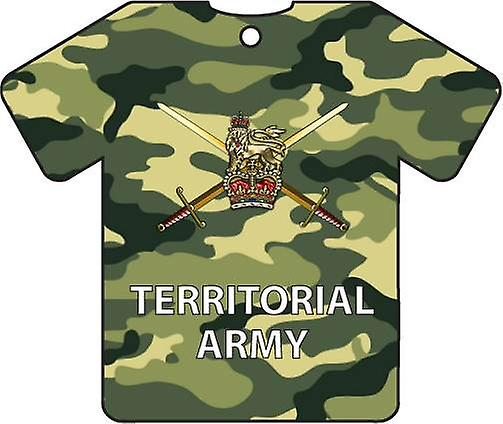 Personalised Territorial Army Car Air Freshener