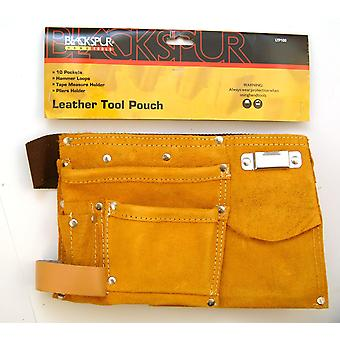 Leather Tool Pouch Belt
