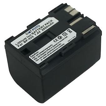 Dot.Foto Canon BP-522 - 7.4V batterie / 2600mAh