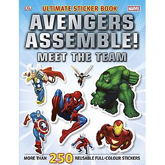 Marvel Avengers Assemble! Ultimate Sticker Book Meet the Team (Ultimate Stickers) (Paperback) by Dk