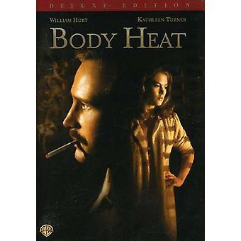Kroppsvarmen [DVD] USA importere