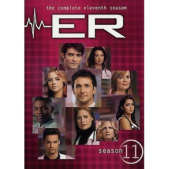 ER - ER: Sesong 11 [DVD] USA importere