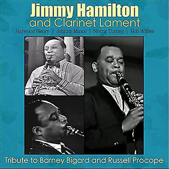 Hamilton, Jimmy / beklage, klarinet - hyldest til Barney Bigard & Russell Procope [CD] USA import