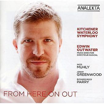 Kitchener-Waterloo symfoni/Edwin Outwater - fra nu af [CD] USA import