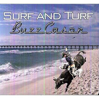 Buzz Cason - Surf & tørv [CD] USA import
