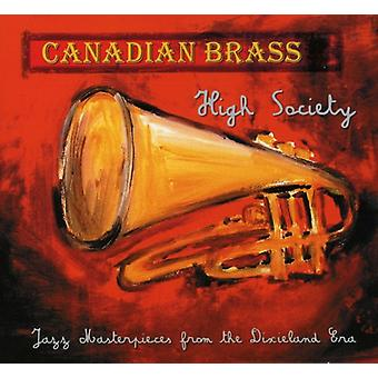 Canadian Brass - High Society: Jazz Masterpieces From the Dixieland Era [CD] USA import