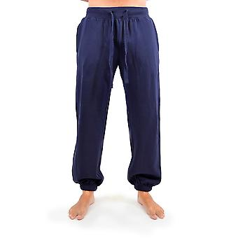 Tom Franks Mens Soft Jogging Gym Pant Trouser With Elasticated Cuff Bottom