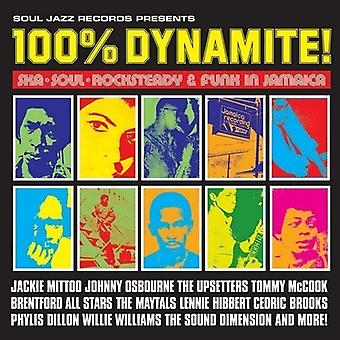 Soul Jazz Records præsenterer - 100% Dynamite [Vinyl] USA import