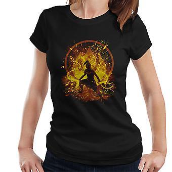 Avatar der letzten Luft Bender Feuer Prinzessin Damen T-Shirt