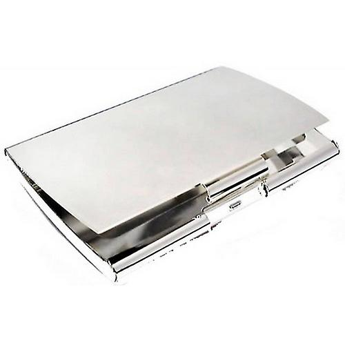 David Van Hagen Curved Business Card Case - Silver