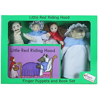 The Puppet Company Fingers Puppets Red Riding Hood in September