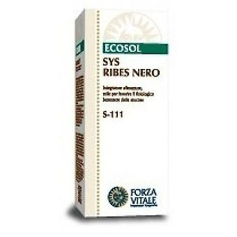 Forza Vitale Sys.ribes Nero (Black Currant) 50Ml. (Herbalist's , Natural extracts)