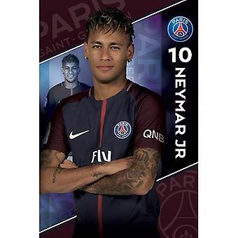 Paris Saint Germain plakat Neymar 10