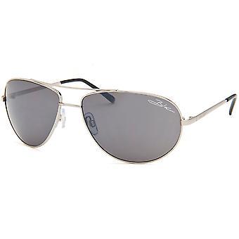 Blok orkanen solbriller - sølv
