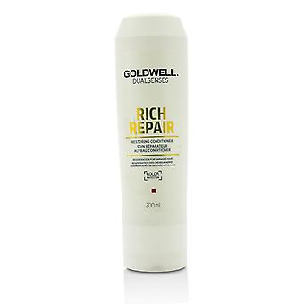 Goldwell Dual Senses Rich Repair Restoring Conditioner (Regeneration For Damaged Hair) 200ml/6.7oz