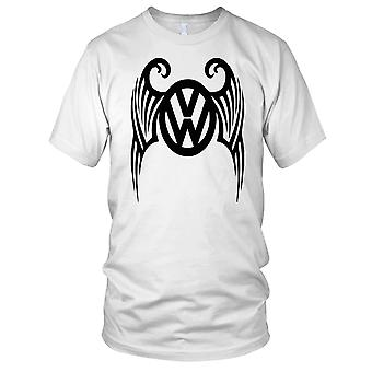 VW Wings - Beetle Kombi Camper Mens T Shirt