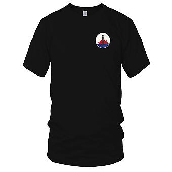 USAF Airforce - 6th Bomber Squadron Embroidered Patch - Mens T Shirt