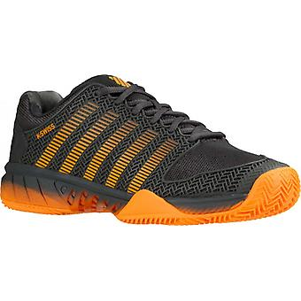 K-Swiss style Court express HB darkshadow / orange