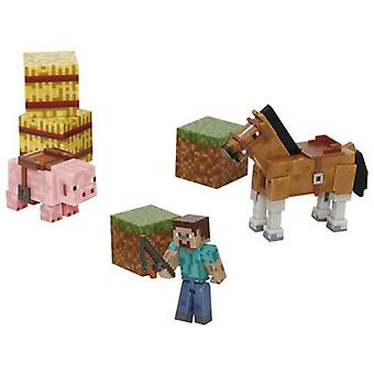 Giochi Preziosi Minecraft-Saddle Pack (Toys , Action Figures , Dolls)