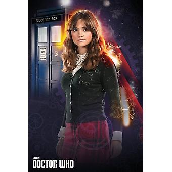 Doctor Who - Clara Poster Poster afdrukken