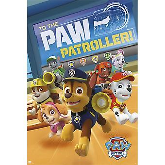 Paw Patrol Patroller plakat Poster Print