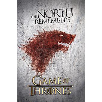 Game of Thrones - The North Poster Poster Print