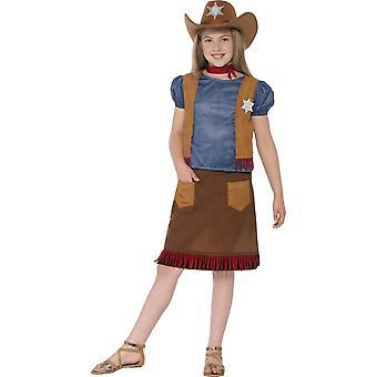 Kinder Kostüme Cowgirl western Kostüm für Mädchen