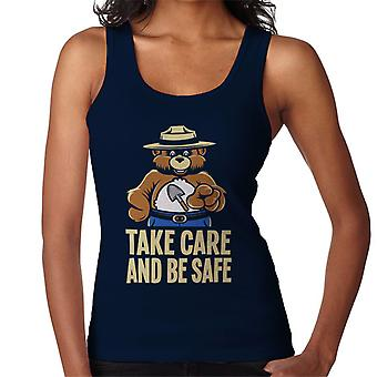 Smokey Bar Take Care And Be Safe Women's Vest