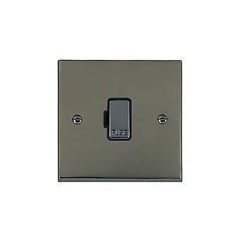 Hamilton Litestat Cheriton Victorian Black Nickel 1g 13A Fuse Only BK/BL