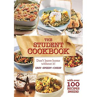 The Student Cookbook: Easy cheap recipes for students (Paperback)