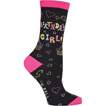 Novelty Crew Socks-Birthday Girl NOVSOCKS-7H059