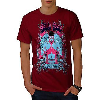 Gott sandte die Boxer Männer RedT-Hemd   Wellcoda