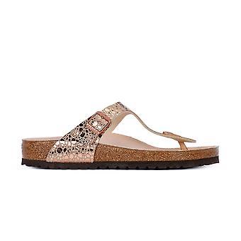 Birkenstock Gizeh Metallic 1005674 haus Sommer Damen Schuhe