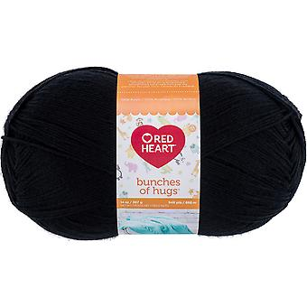Red Heart Bunches Of Hugs Yarn-Licorice E866-5312