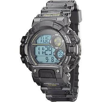 Quartz Outdoor watch YP13613-05 (Ø x H) 48 mm x 15 mm Anthracite Enclosure material=ABS plastic Material (watch strap)=P
