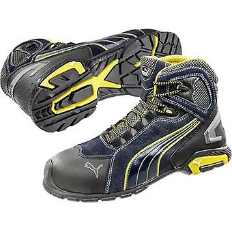 Safety work boots S1P Size: 41 Black, Blue, Yellow PUMA Safety Metro Protect 632230 1 pair