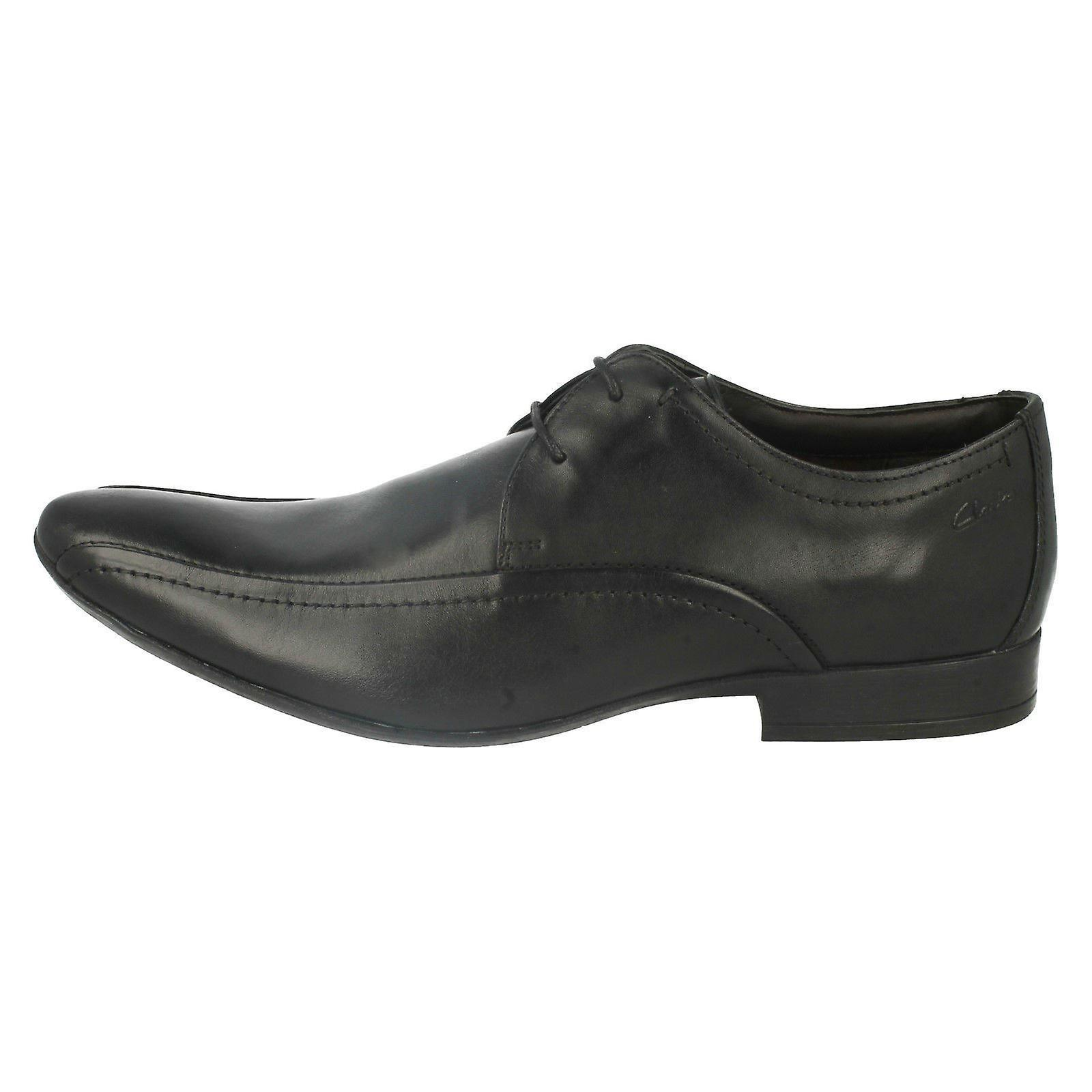 Mens Clarks Formal Lace Up Shoes Glint Up