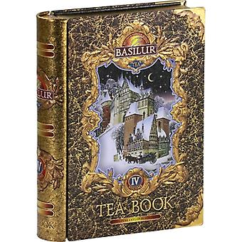 Basilur Tea Tea Book Volume Iv Black Loose Tea In Metal Tin Caddy 100G