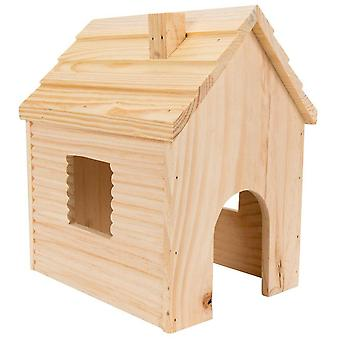 Tyrol Log Chalet Rabbits (Small pets , Cage Accessories , Maisonnettes et Tunnels)