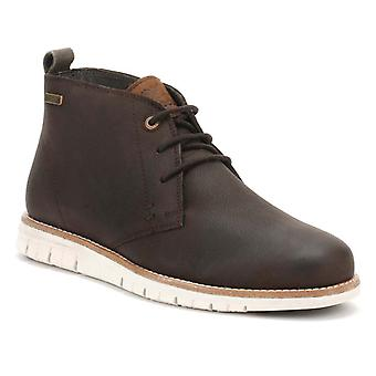 Barbour Mens Truffle Brown Shackleton Boots