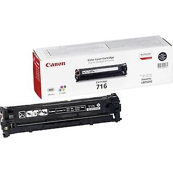 Toner cartridge Original Canon 716 BK Black Page yield 2300 pages