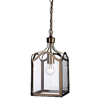 Firstlight Traditional American Bronze Ceiling Lantern Light
