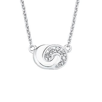 s.Oliver jewel ladies necklace-silver cubic zirconia SO PURE node 2017186