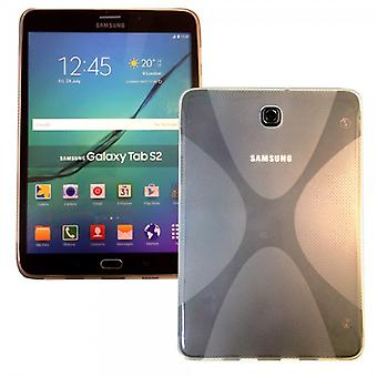 Silicone case for Samsung Galaxy tab S2 transparent 8.0 T710 T715N