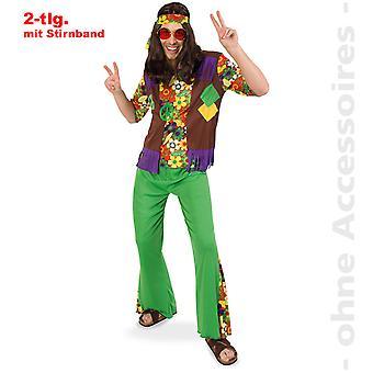 Hippie costume costume hippie des années 60 hommes de flower power costume de Monsieur