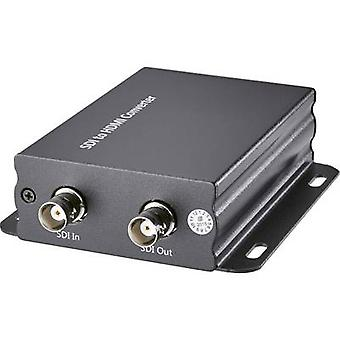 Convertidor de AV [SDI - HDMI] 1920 x 1080 pix SpeaKa profesional SP-SD/HD-01