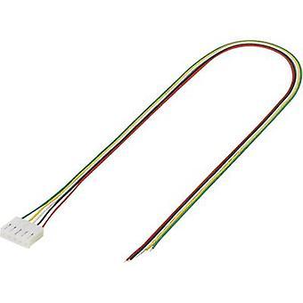TRU componenten pre fab vlecht totaal aantal pinnen 5 Contact afstand: 3.96 mm 1244010 1 PC('s)