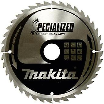 Carbide metal circular saw blade 136 x 20 x 1 mm Number of cogs: 16 Makita SPECIALIZED B-33532 1 pc(s)